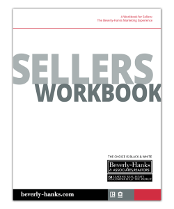Beverly-Hanks seller's workbook