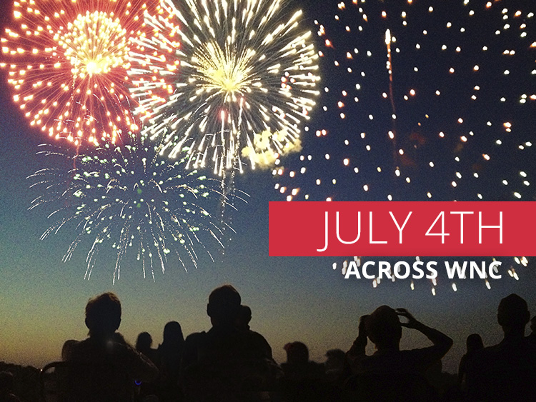 2017 July 4th Events in Asheville and across WNC