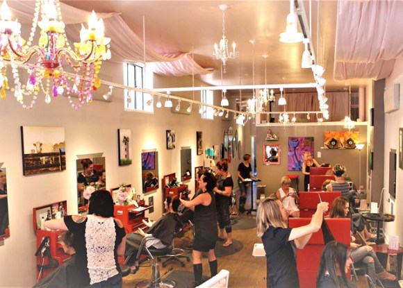 Enjoy a $15 gift certificate to Lola Salon and Gallery in downtown Asheville.