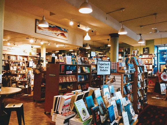 Turning the Page: Malaprop's Bookstore & Café