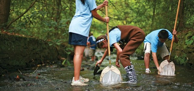 RiverLink brings kids and nature together.
