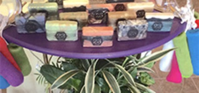 Waynesville: Vegan Soap and Soap Saver from Tea Time Emporium