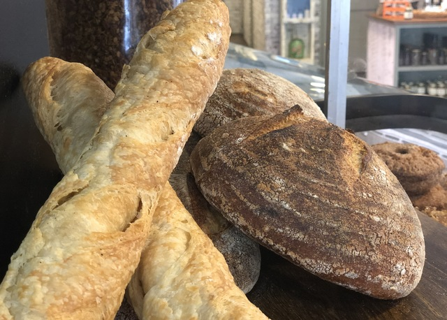 Asheville: Bread and a Coffee at The Rhu