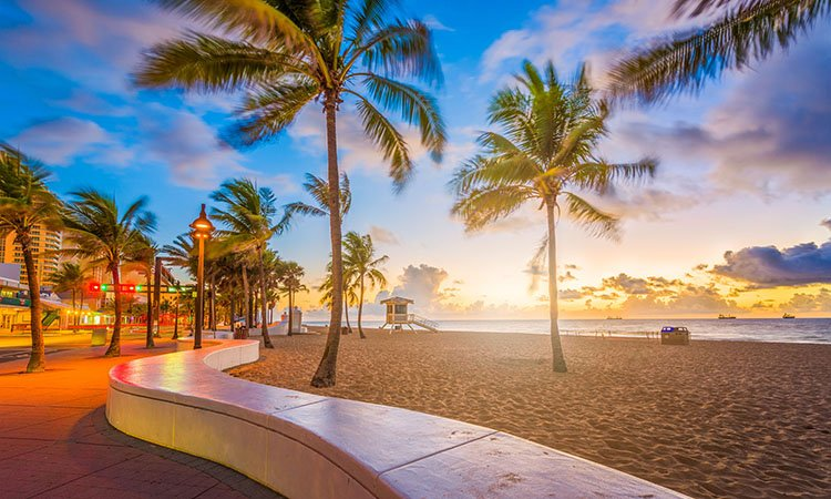 Fly direct from Asheville, NC to Ft. Lauderdale, FL