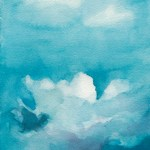 Clouds Watercolor Painting