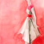 White Dress Red Belt