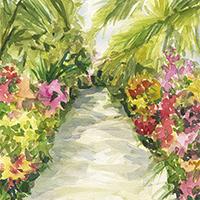 Impressionist Style: NY Botanical Garden Orchid Show