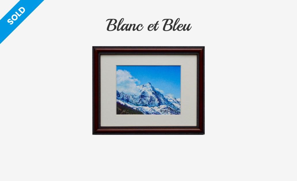 Blanc et Bleu