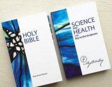 image of Science and Health books, used in Beverly's teachings as a Christian Science Teacher in her Christian Science Primary Class Instruction course on healing