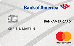 bank of america secured card