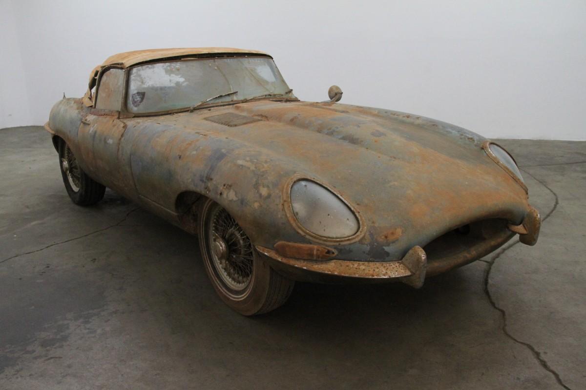 hight resolution of used 1962 jaguar xke series i flat floor roadster los angeles ca