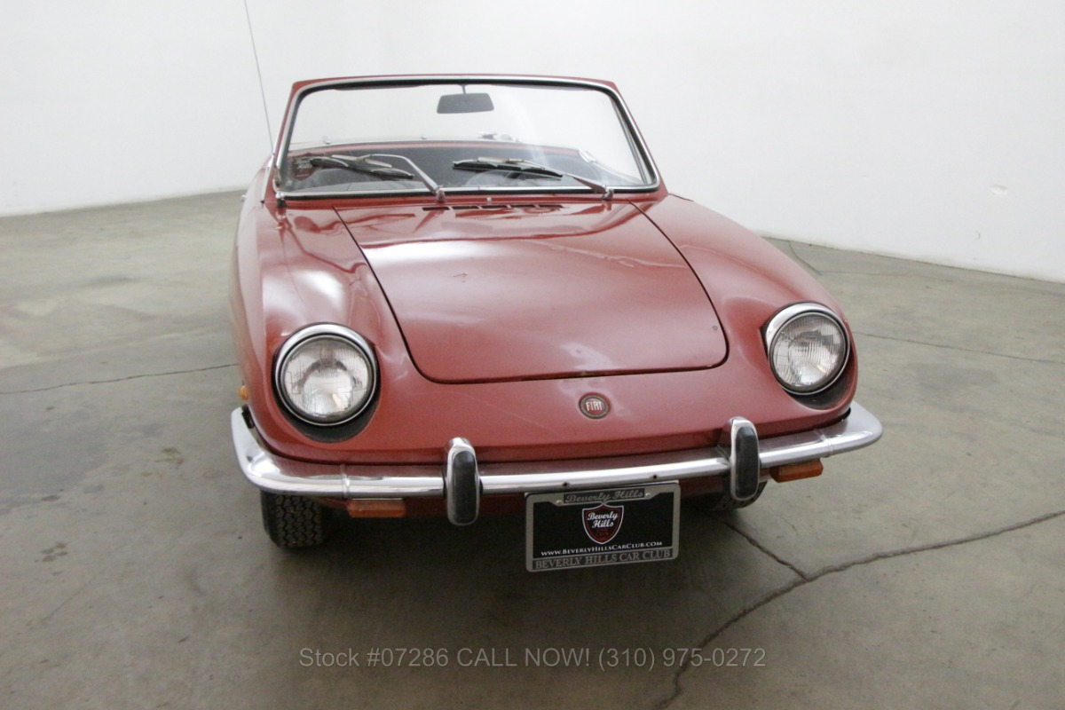 hight resolution of used 1968 fiat 850 spider los angeles ca
