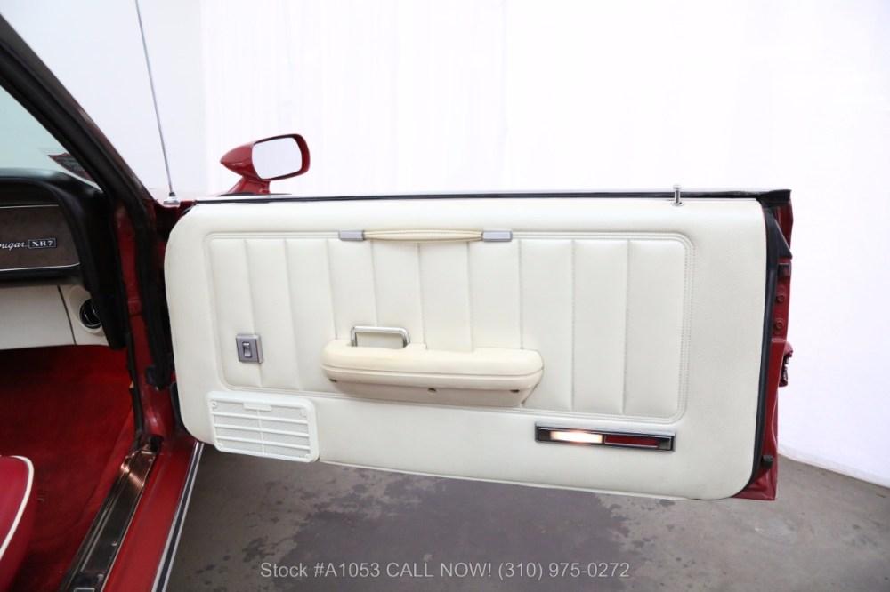 medium resolution of used 1969 mercury cougar xr 7 convertible los angeles ca