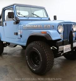 1985 jeep cj 8 scrambler 4x4 laredo edition [ 1200 x 658 Pixel ]