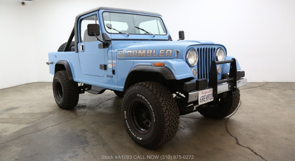 medium resolution of 1985 jeep cj 8 scrambler 4x4 laredo edition
