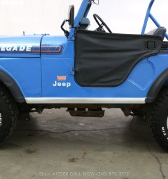 used 1976 jeep cj5 levis edition with v8 los angeles ca [ 1200 x 800 Pixel ]