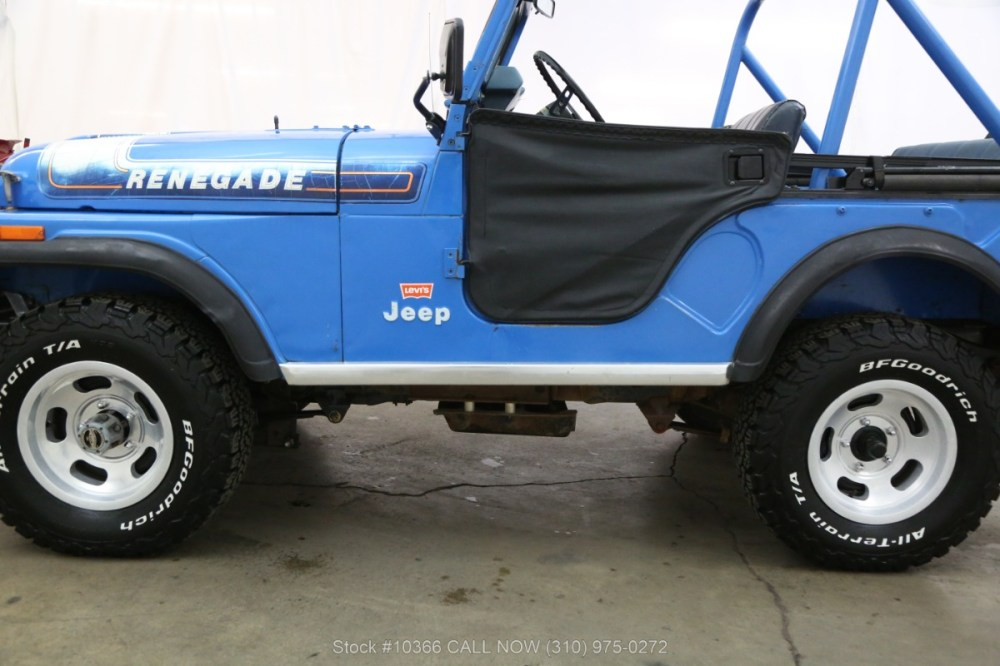 medium resolution of used 1976 jeep cj5 levis edition with v8 los angeles ca