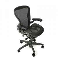 Herman Miller Aeron Chair Standard Classic Size B Graphite ...