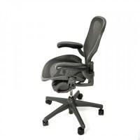 Herman Miller Aeron Chair Standard Classic Size A Graphite ...