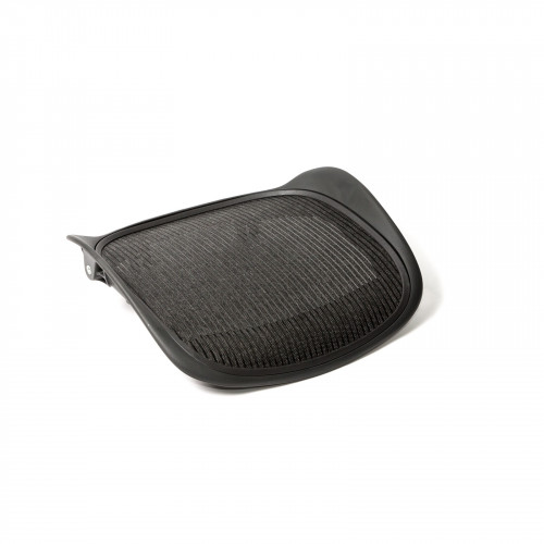 herman miller aeron chair size b reviews fabric accent seat pan & mesh for - from beverly hills chairs
