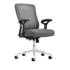 Modern Grey Leather Office Chair Rentals Phoenix Mid Back Mesh And From Beverly Hills Chairs