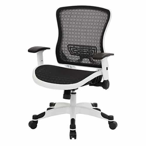 office chair with adjustable arms chaise chairs for sale ergostar mesh back and from beverly hills