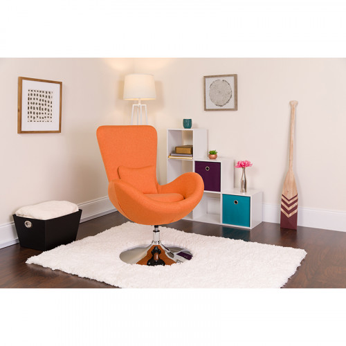 orange egg chair outdoor nz fabric reception room from beverly hills chairs