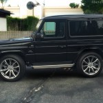 Beverly Motors Inc Glendale Auto Leasing And Sales New Car Lease Specials Burbank Beverly Hills Hollywood Pasadena North Hollywood 2001 Mercedes Benz G320 Coupe G63 Brabus Black On Black G55 G550 Amg