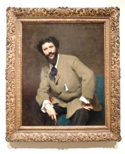 """Carolus-Duran"" by John Singer Sargent, 1879, Oil on canvas"