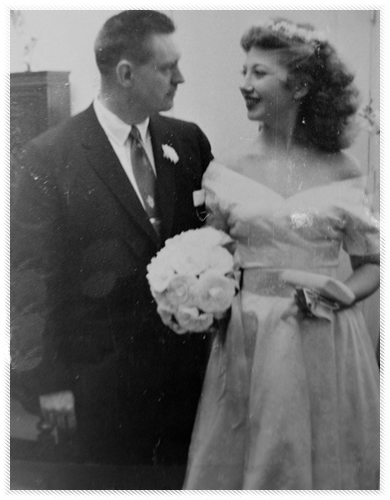 Beverly and Peter wedding photo