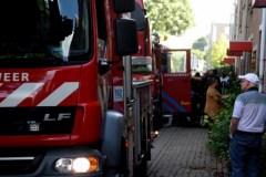 Brand aan Rhijnhauwensingel, 1 gewonde