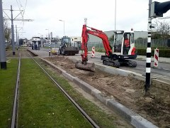 Realisatie nieuwe bushalte Limbrichthoek