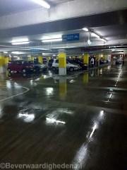 Ondergrondse garage bij Keizerswaard