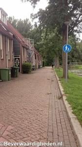 Oude Watering, voetpad richting Weldamsingel