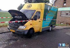 Autobrand aan de Bovenstraat
