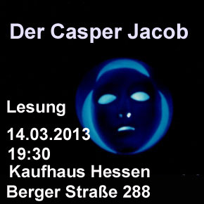 """Lesung """"Der Casper Jacob"""" im Kaufhaus Hessen"""