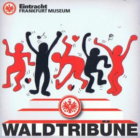 Waldtribüne zum Spiel gegen den SC Freiburg