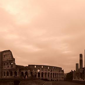 Vom Colosseo nach Ostia Lido
