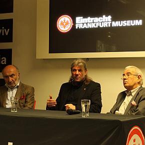 Dr. Klaus Gramlich und Matthias Ohms im Eintracht Museum