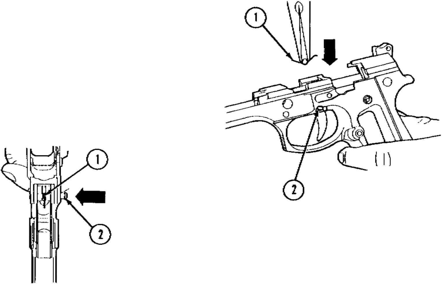 Diagram Of The Beretta 92f