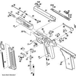 Ruger Pistol Parts Diagram 2003 Nissan Altima Wiring Mark 1 Great Installation Of Browning Buck Plus And Semiautomatic Pistols Rh Bevfitchett Us Vintage Breakdown