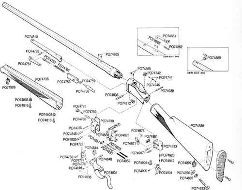 small resolution of schematic single shot rifle