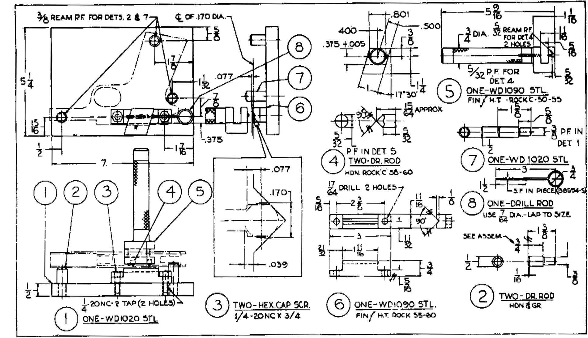 Colt 45 Detail Assembly