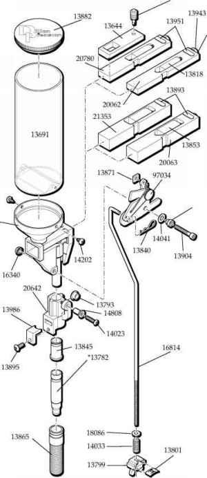 SDB Automatic Powder System  Dillon Square Deal B