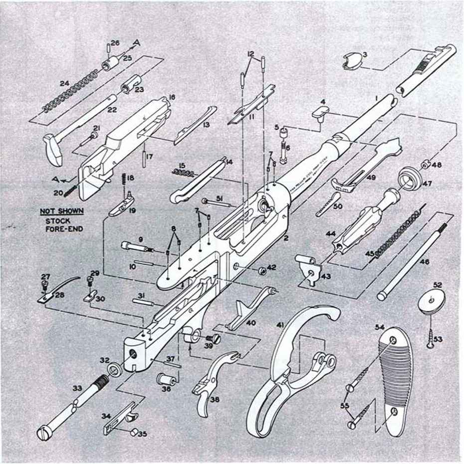 medium resolution of savage 87d cartridge guide spring grenade launcher m203 schematic