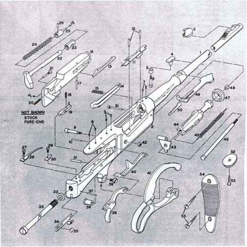 small resolution of savage 87d cartridge guide spring grenade launcher m203 schematic