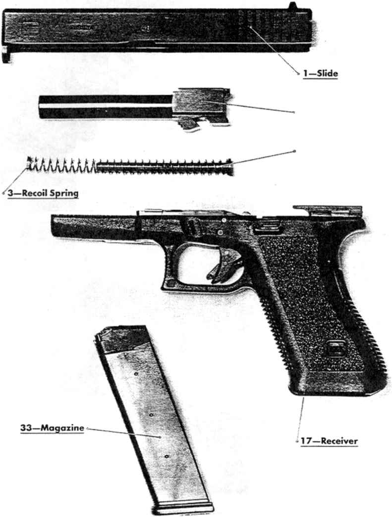 glock 22 exploded diagram 2006 gmc sierra wiring 27 breakdown toyskids co 21 parts get free image about 17 9mm pistol gen 3