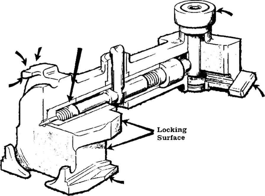 gun silencer diagram for pistol