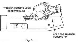 Trigger Housing Removal Mossberg Model 500 835 590