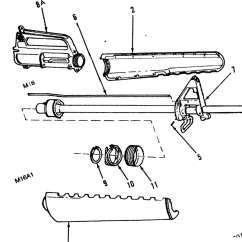 M16 Upper Receiver Assembly Diagram 2008 Toyota Yaris Radio Wiring 1005 00 978 1038 Rifle 5 56mm And M16a1